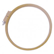 Deep Sided Wooden Hoop - 12 inch