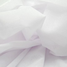 Lightweight woven fusible interfacing - White