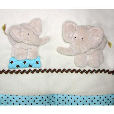 Windflower Embroidery - Zoo Elephants