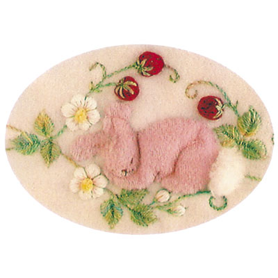 Windflower Embroidery - Bunnies in the Berry Patch