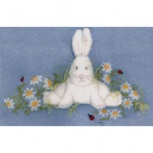 Windflower Embroidery - In the Daisy Patch Complete Kit