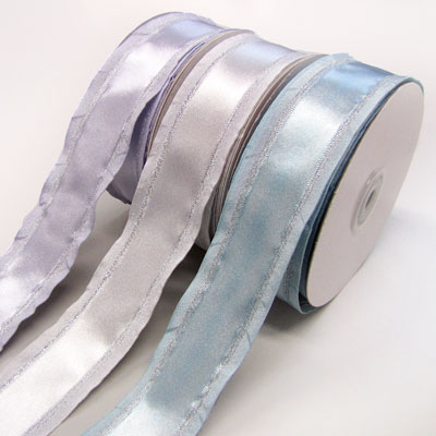 Satin Ribbon 38mm wide - Lilac