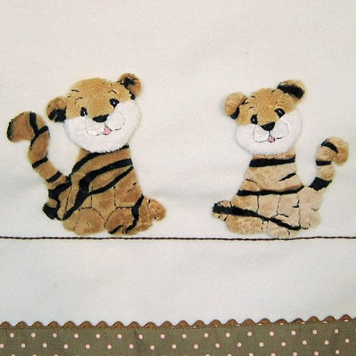 Windflower Embroidery - Tigers