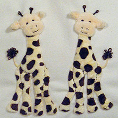 Windflower Embroidery - Giraffes