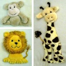 Windflower Embroidery - Zoo Trio