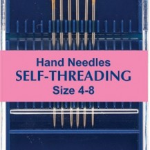 Hemline self threading needles 4-8