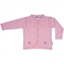 Pink Emboridered Cardigan
