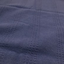 ALpaca wool dark blue blanket