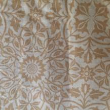 gold sunflower pattern