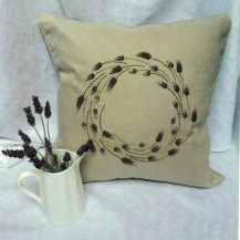 spriggs lavender cushion