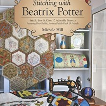 stitching with beatrix potter