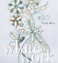 thrish burr whitework with colour