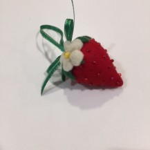 strawberry emery bag