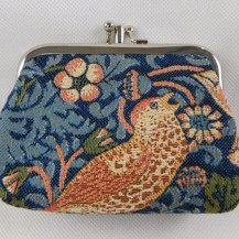 coin purse 2 compartments Strawberry Theif