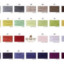 new Dmc colour chart