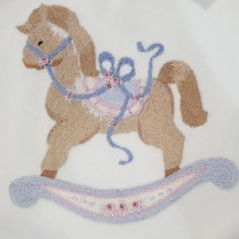 rocking horse baby blanket (1)
